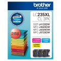 Brother LC-235XL 3 PK  High Yield Colour ink set for DCP-J4120DW MFC-J4620DW MFC-J5320DW MFC-J5720DW