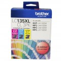 Brother LC135XL Colour Ink 3 Pack for DCP-J4110DW MFC-J4410DW MFC-J4510DW MFC-J4710DW