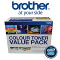 Brother TN-255VP Cyan,Magenta,Yellow & Black High Yield Toner for MFC9330 MFC9340