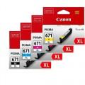 Canon CLI-671XLVP Colour Ink Set HIGH YIELD