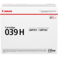 Canon Cartridge 039II High Capacity BLACK Toner Cartridge