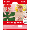 Canon NL101 Printable Nail Stickers 2 sheets OF 12 stickers
