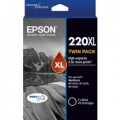 Epson C13T294194 Black Ink 2 Pack 220XL