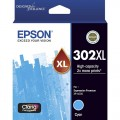 Epson C13T01Y292 Cyan Ink 302XL High Capacity for Expression Photo XP6000 XP6100