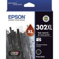 Epson C13T01Y192 Photo Black Ink 302XL High Capacity for Expression Photo XP6000 XP6100