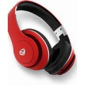 NCREDIBLE-1 HEADSET RED WIRELESS BLUETOOTH