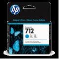 Hewlett Packard HP-712 Cyan Ink cartridge for t230 t250 t650